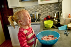 Three things to do when your child is in the middle of a meltdown.